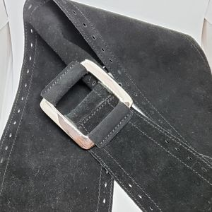 Gap Black Suede Belt